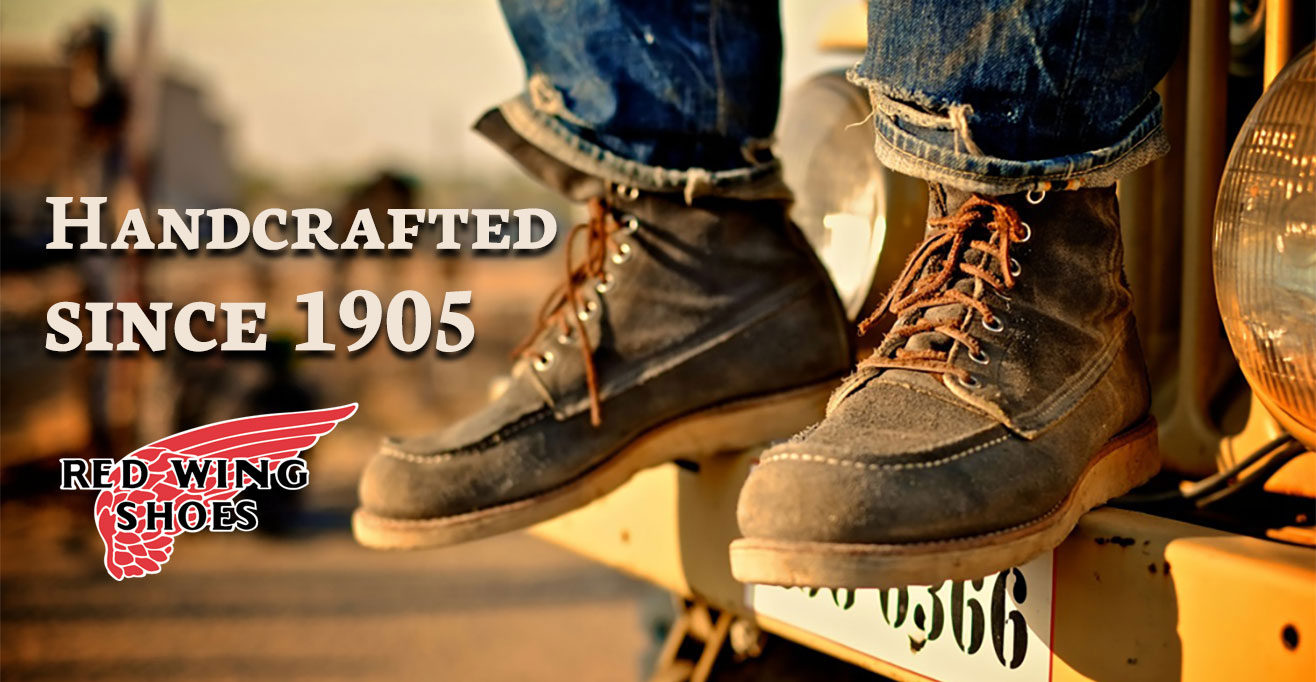 Red Wing Boots and Shoes