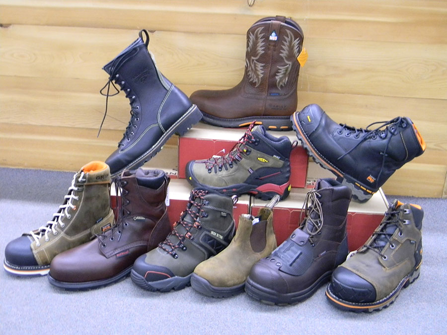 Mens Work Boots Steel Toe Redwing Timberland Spruce